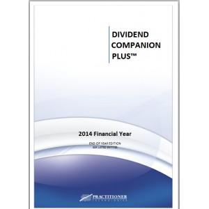 DIVIDEND COMPANION PLUS ® 2014